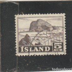 Sellos: ISLANDIA 1954 - YVERT NRO. 254 - USADO. Lote 195050605