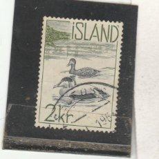 Sellos: ISLANDIA 1959 - YVERT NRO. 296 - USADO. Lote 195052340