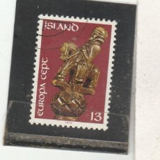 Sellos: ISLANDIA 1974 - YVERT NRO. 442 - USADO. Lote 195053102