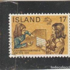 Sellos: ISLANDIA 1974 - YVERT NRO. 451 - USADO -. Lote 195053290