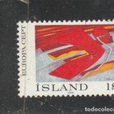 Sellos: ISLANDIA 1975 - YVERT NRO. 455 - USADO -. Lote 195053392