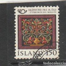 Sellos: ISLANDIA 1980 - YVERT NRO. 509 - USADO -. Lote 195053705