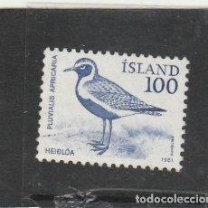 Sellos: ISLANDIA 1981 - YVERT NRO. 521 - USADO -. Lote 195053893