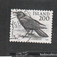Sellos: ISLANDIA 1981 - YVERT NRO. 522 - USADO -. Lote 195054058