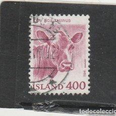 Sellos: ISLANDIA 1982 - YVERT NRO. 534 - USADO -. Lote 195054302