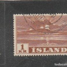 Sellos: ISLANDIA 1948 - YVERT NRO. 213 - USADO. Lote 198156692