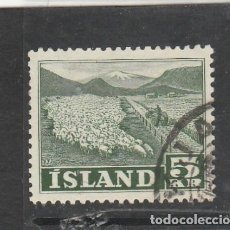 Sellos: ISLANDIA 1950 - YVERT NRO. 233 - USADO. Lote 198156773
