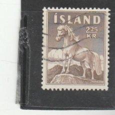 Sellos: ISLANDIA 1958 - YVERT NRO. 285 - USADO. Lote 198157071
