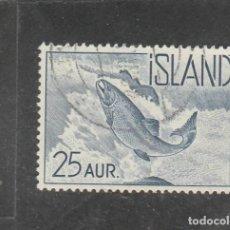 Sellos: ISLANDIA 1959 - YVERT NRO. 294 - USADO. Lote 198157146