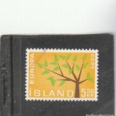 Sellos: ISLANDIA 1962 - YVERT NRO. 319 - USADO. Lote 198157255