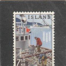 Sellos: ISLANDIA 1963 - YVERT NRO. 326 - USADO. Lote 198157305