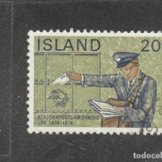 Sellos: ISLANDIA 1974 - YVERT NRO. 452 - USADO . Lote 198158417