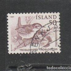 Sellos: ISLANDIA 1981 - YVERT NRO. 520 - USADO -. Lote 198158753