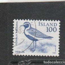 Sellos: ISLANDIA 1981 - YVERT NRO. 521 - USADO -. Lote 198158795