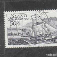 Sellos: ISLANDIA 1987 - YVERT NRO. 616 - USADO -. Lote 198159128