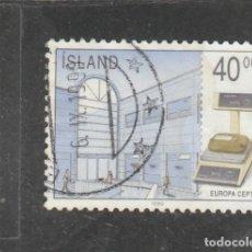 Sellos: ISLANDIA 1990 - YVERT NRO. 680 - USADO -. Lote 198159258