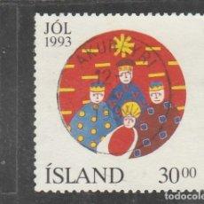 Sellos: ISLANDIA 1993 - YVERT NRO. 748 - USADO -. Lote 198159516