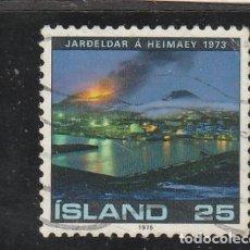 Sellos: ISLANDIA 1975 - YVERT NRO. 454 - USADO. Lote 198175758