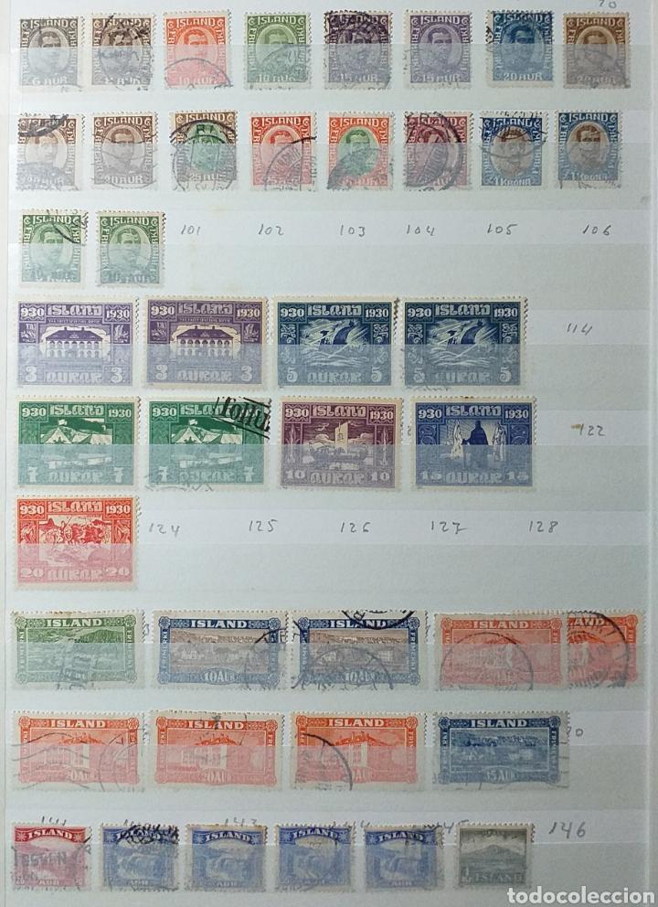 Sellos: Colección de sellos de Islandia muy completa desde el inicio, mucho nuevo, en álbum de 16 páginas - Foto 2 - 200086518