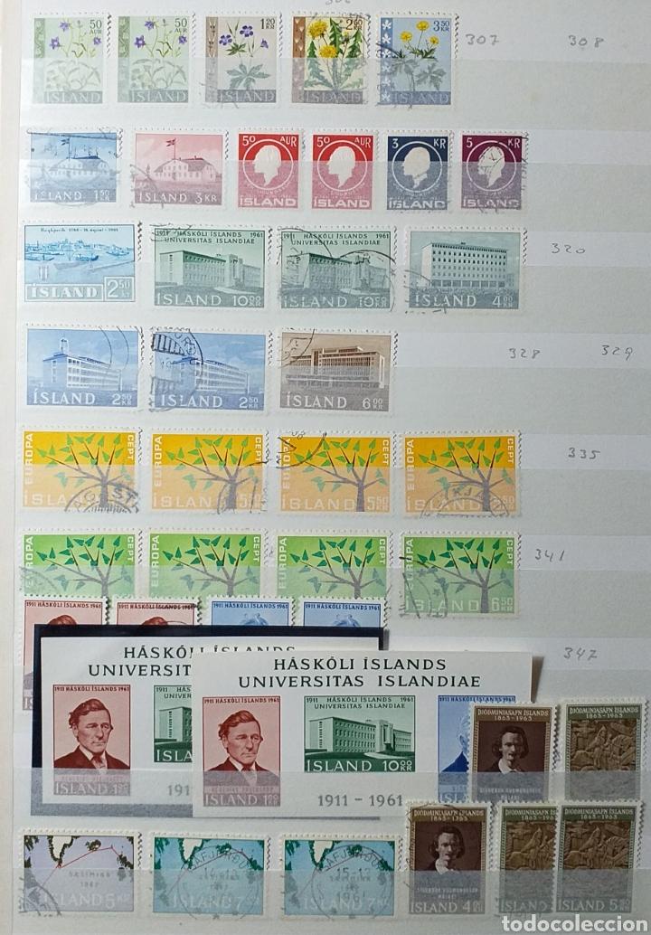 Sellos: Colección de sellos de Islandia muy completa desde el inicio, mucho nuevo, en álbum de 16 páginas - Foto 6 - 200086518