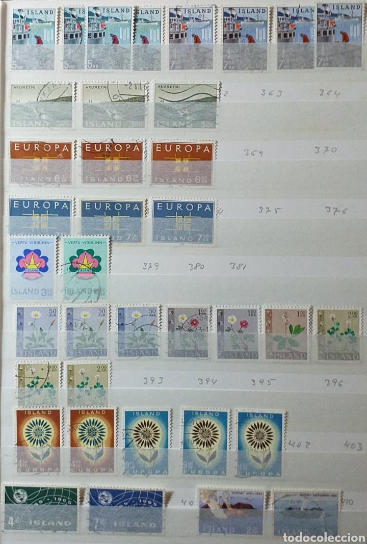 Sellos: Colección de sellos de Islandia muy completa desde el inicio, mucho nuevo, en álbum de 16 páginas - Foto 7 - 200086518