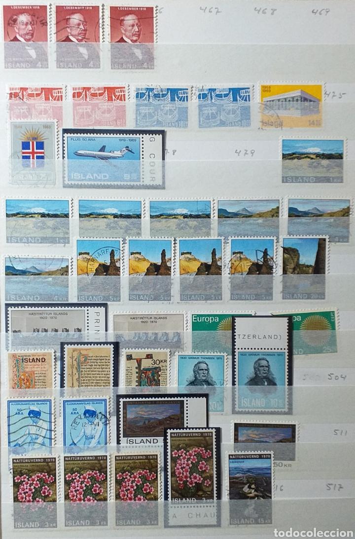 Sellos: Colección de sellos de Islandia muy completa desde el inicio, mucho nuevo, en álbum de 16 páginas - Foto 9 - 200086518