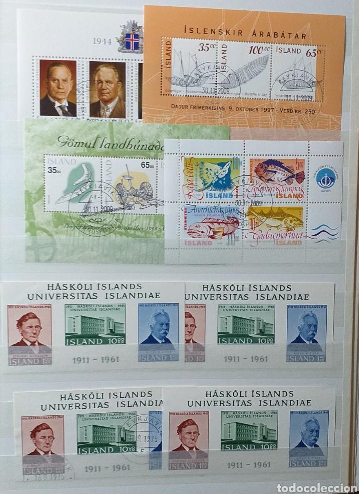 Sellos: Colección de sellos de Islandia muy completa desde el inicio, mucho nuevo, en álbum de 16 páginas - Foto 22 - 200086518