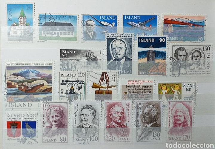 Sellos: Colección de sellos de Islandia muy completa desde el inicio, mucho nuevo, en álbum de 16 páginas - Foto 23 - 200086518