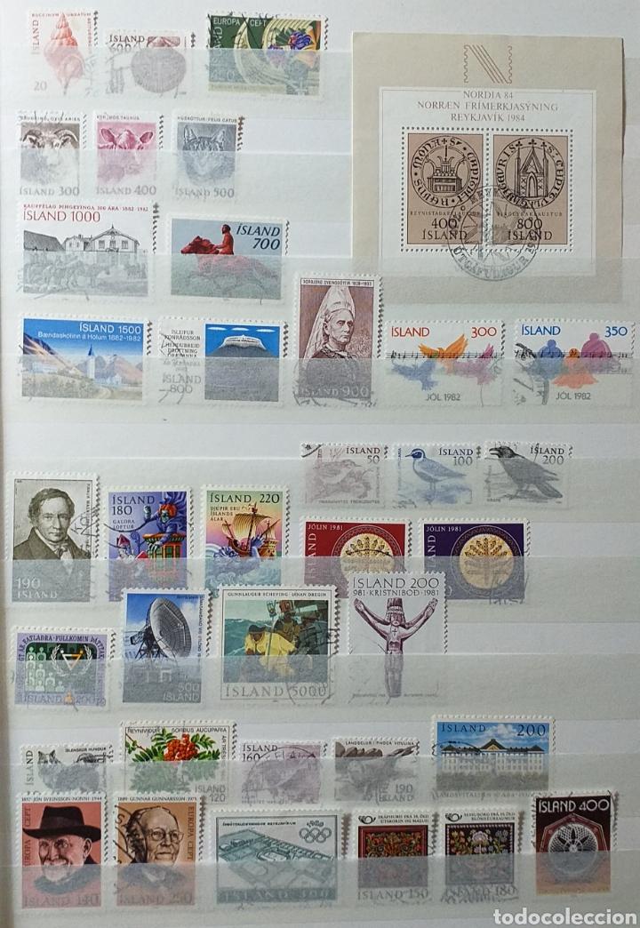 Sellos: Colección de sellos de Islandia muy completa desde el inicio, mucho nuevo, en álbum de 16 páginas - Foto 24 - 200086518