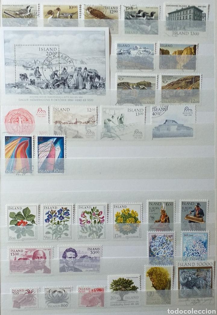 Sellos: Colección de sellos de Islandia muy completa desde el inicio, mucho nuevo, en álbum de 16 páginas - Foto 26 - 200086518