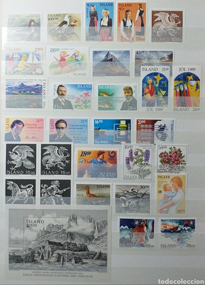 Sellos: Colección de sellos de Islandia muy completa desde el inicio, mucho nuevo, en álbum de 16 páginas - Foto 27 - 200086518