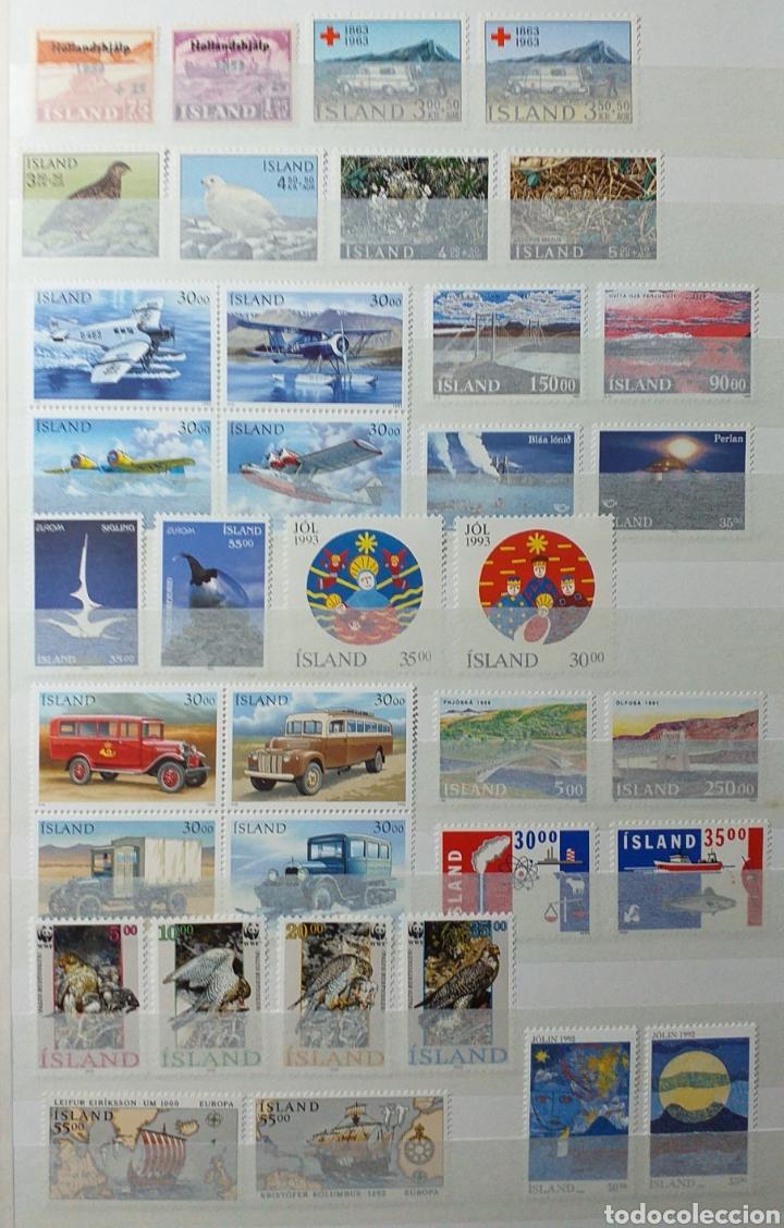 Sellos: Colección de sellos de Islandia muy completa desde el inicio, mucho nuevo, en álbum de 16 páginas - Foto 29 - 200086518