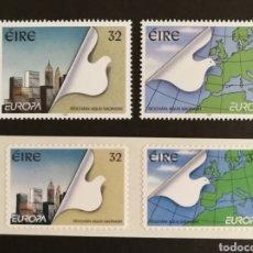 Sellos: ISLANDIA, EUROPA 1995 MNH, PAZ Y LIBERTAD (FOTOGRAFÍA REAL). Lote 203373443