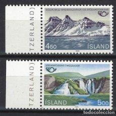 Sellos: ISLANDIA 1983 - NORDEN 83, PAISAJES, S.COMPLETA - SELLOS NUEVOS **. Lote 204747058
