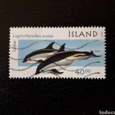 Sellos: ISLANDIA YVERT 892 SELLO SUELTO USADO. FAUNA.. Lote 206513408