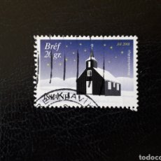 Sellos: ISLANDIA YVERT 926 SELLO SUELTO USADO. NAVIDAD.. Lote 206515141