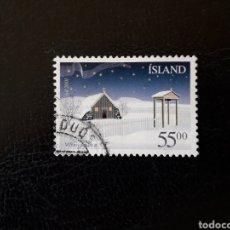 Sellos: ISLANDIA YVERT 927 SELLO SUELTO USADO. NAVIDAD.. Lote 206515388