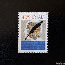Sellos: ISLANDIA YVERT 886 SELLO SUELTO USADO. NUEVO MILENIO. Lote 206516047