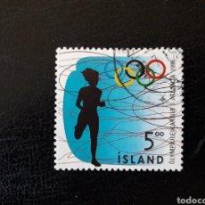 Sellos: ISLANDIA YVERT 799 SELLO SUELTO USADO. DEPORTES. OLIMPIADA DE ATLANTA 96. Lote 206516533