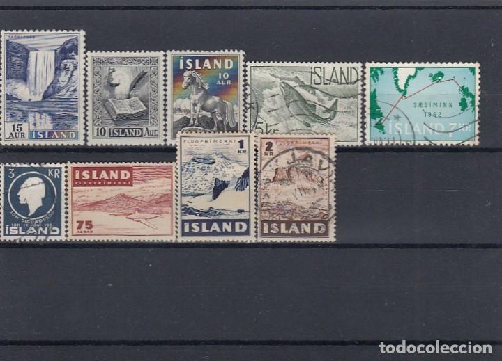 Sellos: Lote de sellos de Islandia. Usados y nuevos con charnela. - Foto 2 - 210182985