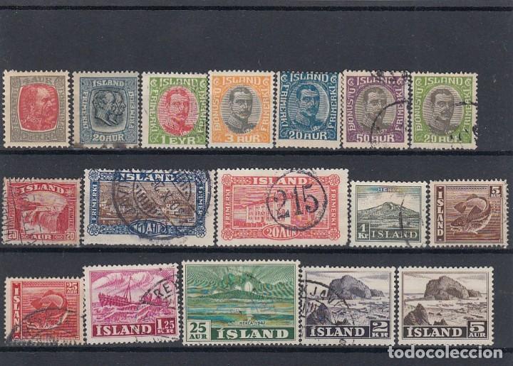 Sellos: Lote de sellos de Islandia. Usados y nuevos con charnela. - Foto 3 - 210182985