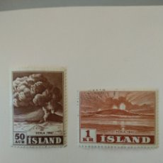 Sellos: SELLOS DE ISLANDIA. Lote 217535217