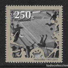 Sellos: ISLANDIA. YVERT Nº 1249 NUEVO. Lote 217628517