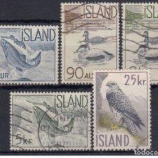 Sellos: SELLOS USADOS DE ISLANDIA, YT 294/ 98. Lote 221614190