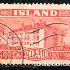 Sellos: ISLANDIA IVERT Nº 117 (AÑO 1925), MUSEO NACIONAL DE REYKJAVIK, USADO. Lote 224506165