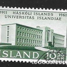 Timbres: ISLANDIA. Lote 224590608
