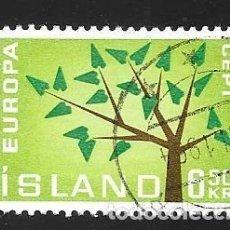 Sellos: ISLANDIA. Lote 224590761