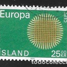 Sellos: ISLANDIA. Lote 224590823