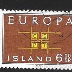 Sellos: ISLANDIA. Lote 224590880