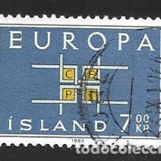 Sellos: ISLANDIA. Lote 224591136